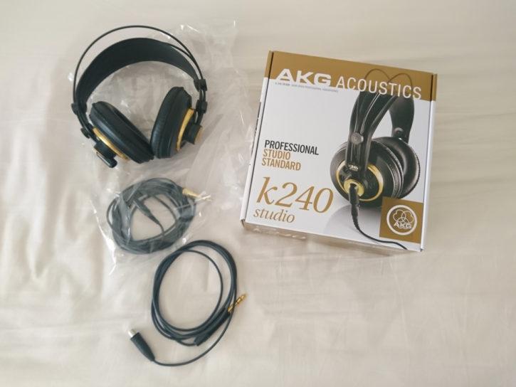 「AKG K240 Studio」を買ってみた1