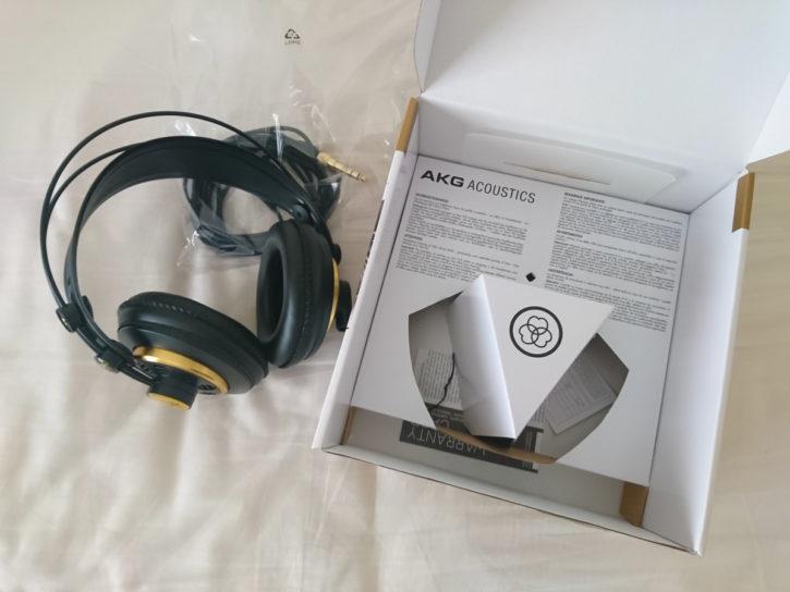 「AKG K240 Studio」を買ってみた3